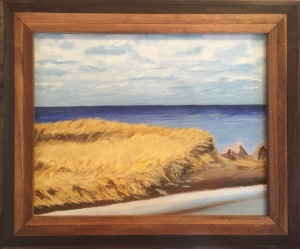 Framed Shediac Beach